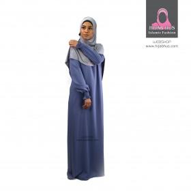 Abaya m. elastikbånd