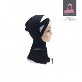 Ninja hijab-paljetter