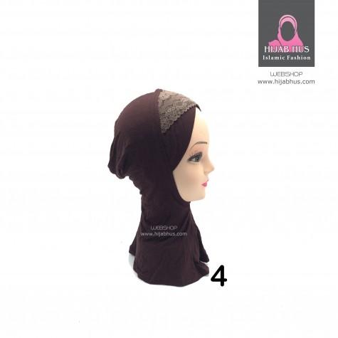 Ninja hijab-dantel
