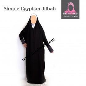 Enkelt egyptiske Jilbab