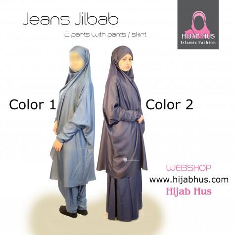 Jeans Jilbab m. bukser