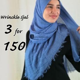 Wrinckle Sjal