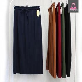 Plisse Skjørt - Skjort & bukser