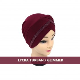 Lycra Turban - Glimmer