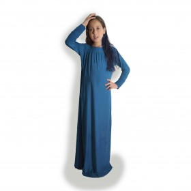 Galaxy Blue Basic Abaya