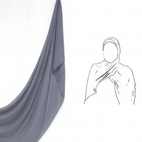 Maxi Chiffon Sjal - Lava