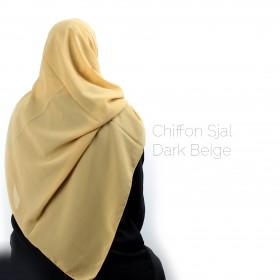 Chiffon Sjal - Sand