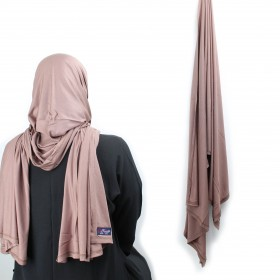 Maxi Jersey Sjal - Wood Rose
