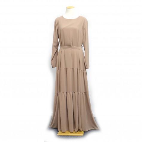 Chiffon Maxi kjole