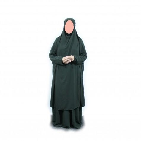 Medium Long Jilbab Med Skjørt