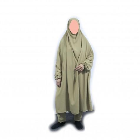 Medium Long Jilbab Med Bukser