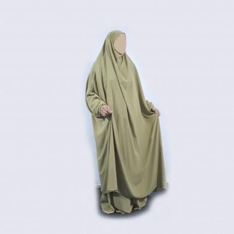 Lang Jilbab Med Skjørt