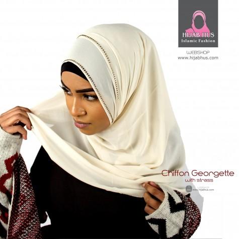 Chiffon scarf-Palietter