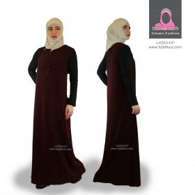 Ærmeløse abaya