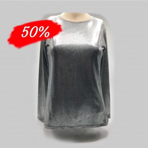 Langærmede T- shirt