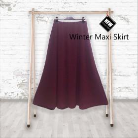 Vinter Maxi Nederdel