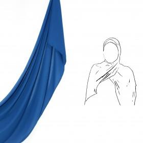 Maxi Chiffon Sjal - Galaxy Blue