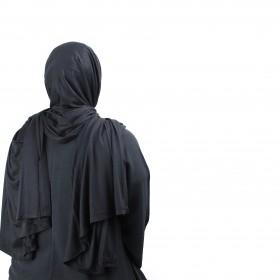 Maxi Jersey Sjal - Black