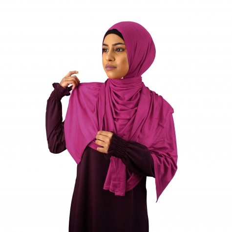 Maxi Jersey Sjal - Ruby