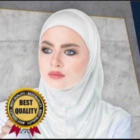 Bomuld Hijab / 2 dele