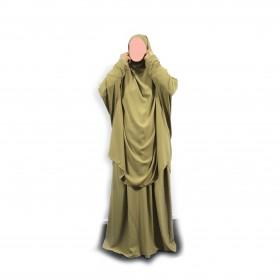 Kort Jilbab Med Nederdel