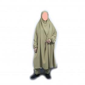 Medium Long Jilbab Med Byxor