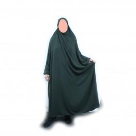 Lång Jilbab Med Byxor